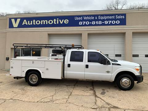 2011 Ford F-350 Super Duty XL for sale at V Automotive in Harrison AR