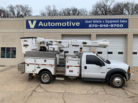 2007 Ford F-550 Super Duty for sale at V Automotive in Harrison AR