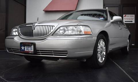 2008 Lincoln Town Car for sale in Houston TX