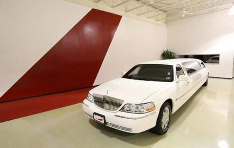 2007 Lincoln Town Car for sale in Houston TX