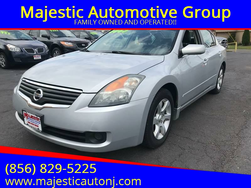 2008 Nissan Altima For Sale At Majestic Automotive Group In Cinnaminson NJ