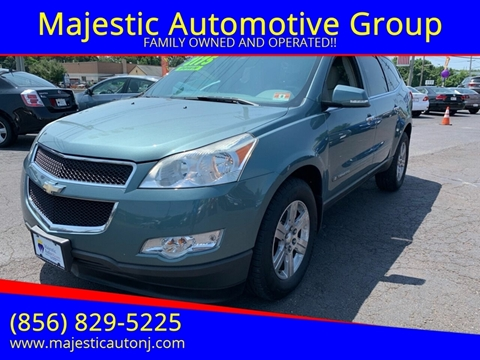 2009 Chevrolet Traverse for sale at Majestic Automotive Group in Cinnaminson NJ