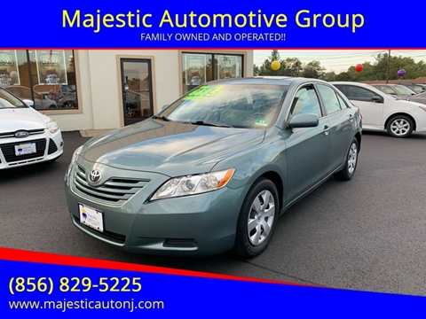 2008 Toyota Camry for sale at Majestic Automotive Group in Cinnaminson NJ