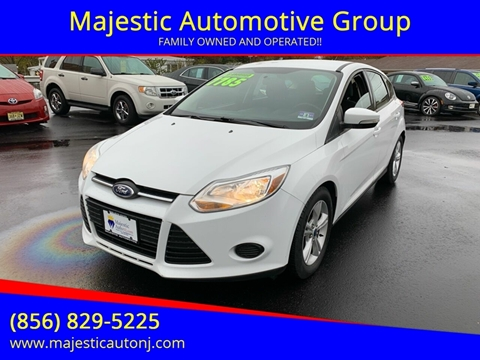2014 Ford Focus for sale at Majestic Automotive Group in Cinnaminson NJ