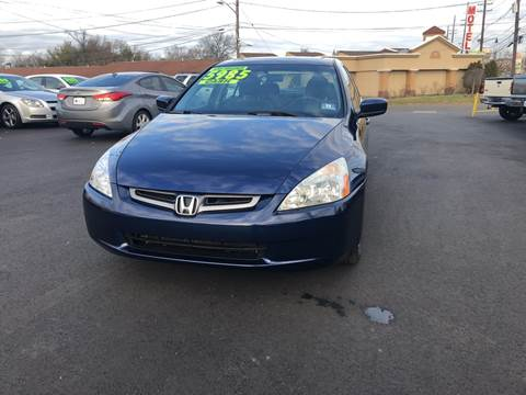 2004 Honda Accord for sale at Majestic Automotive Group in Cinnaminson NJ