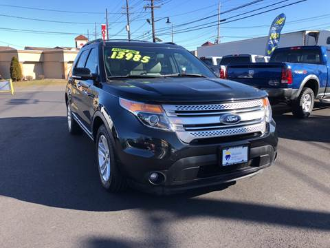 2013 Ford Explorer for sale at Majestic Automotive Group in Cinnaminson NJ