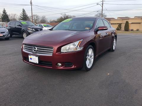 2009 Nissan Maxima for sale at Majestic Automotive Group in Cinnaminson NJ