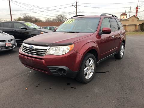 2010 Subaru Forester for sale at Majestic Automotive Group in Cinnaminson NJ