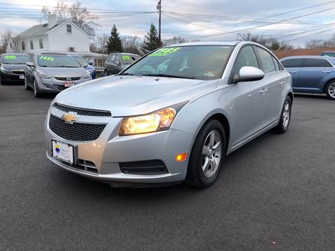 2013 Chevrolet Cruze for sale at Majestic Automotive Group in Cinnaminson NJ