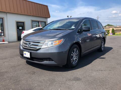 2012 Honda Odyssey for sale at Majestic Automotive Group in Cinnaminson NJ