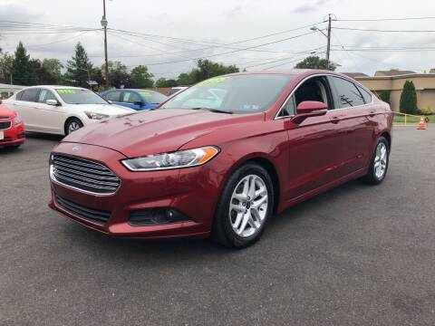 2015 Ford Fusion for sale at Majestic Automotive Group in Cinnaminson NJ
