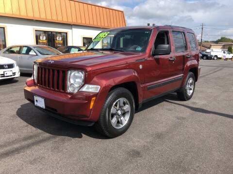 2008 Jeep Liberty for sale at Majestic Automotive Group in Cinnaminson NJ