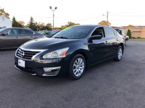 2014 Nissan Altima for sale at Majestic Automotive Group in Cinnaminson NJ