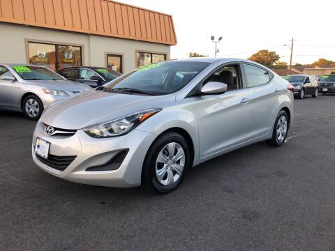 2016 Hyundai Elantra for sale at Majestic Automotive Group in Cinnaminson NJ