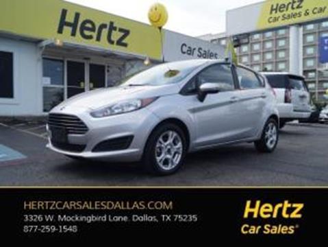 2016 Ford Fiesta for sale in Dallas, TX