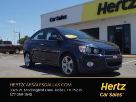 2016 Chevrolet Sonic for sale in Dallas, TX
