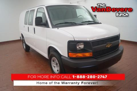 2017 Chevrolet Express Cargo for sale in Akron, OH