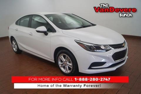 2017 Chevrolet Cruze for sale in Akron, OH