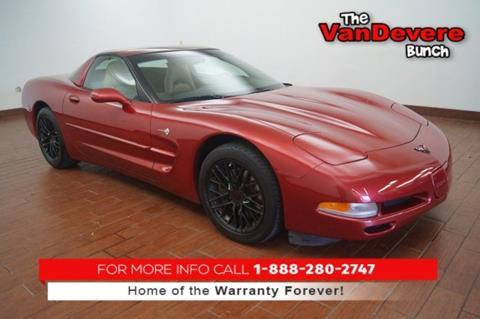 2000 Chevrolet Corvette for sale in Akron, OH