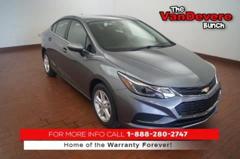 2018 Chevrolet Cruze for sale in Akron, OH