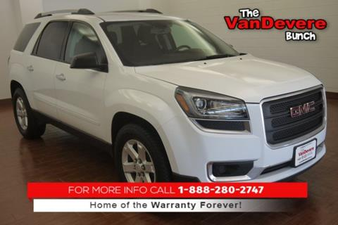 2016 GMC Acadia for sale in Akron, OH