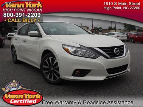 2017 Nissan Altima for sale in High Point, NC
