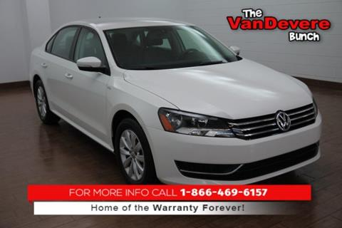 2015 Volkswagen Passat for sale in Akron, OH