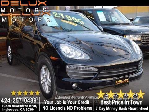 2012 Porsche Cayenne for sale in Inglewood, CA