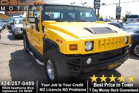 2006 HUMMER H2 SUT for sale in Inglewood, CA