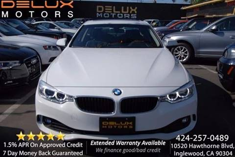 2014 BMW 4 Series for sale at Delux Motors in Inglewood CA
