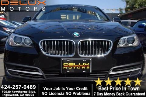 2014 BMW 5 Series for sale in Inglewood, CA