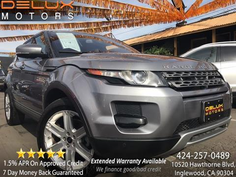 2013 Land Rover Range Rover Evoque for sale in Inglewood, CA