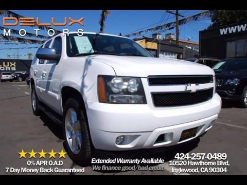 2009 Chevrolet Tahoe for sale at Delux Motors in Inglewood CA