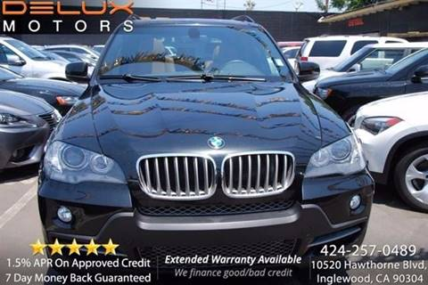 2010 BMW X5 for sale at Delux Motors in Inglewood CA