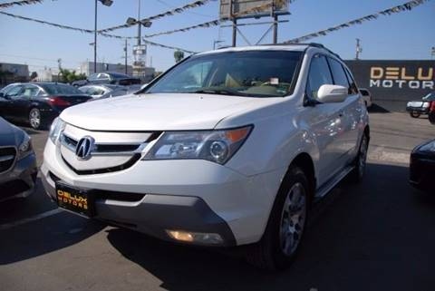 2009 Acura MDX for sale at Delux Motors in Inglewood CA