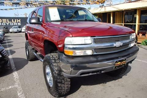 2003 Chevrolet Tahoe for sale at Delux Motors in Inglewood CA
