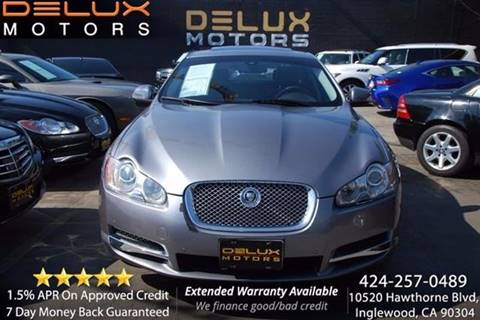 2009 Jaguar XF for sale at Delux Motors in Inglewood CA