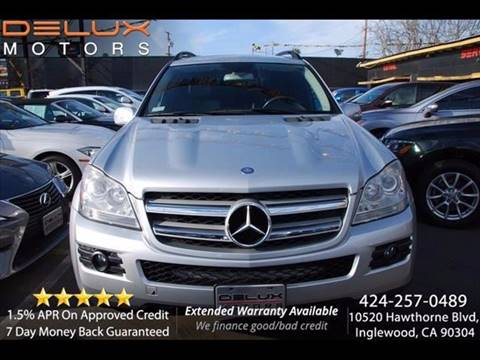 2007 Mercedes-Benz GL-Class for sale at Delux Motors in Inglewood CA
