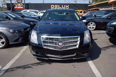 2008 Cadillac CTS for sale at Delux Motors in Inglewood CA