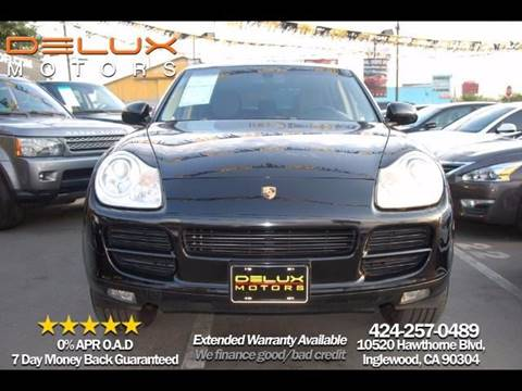 2006 Porsche Cayenne for sale at Delux Motors in Inglewood CA