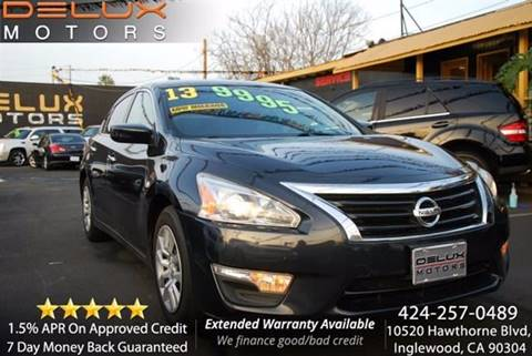2013 Nissan Altima for sale at Delux Motors in Inglewood CA