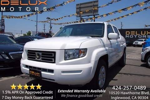 2006 Honda Ridgeline for sale at Delux Motors in Inglewood CA