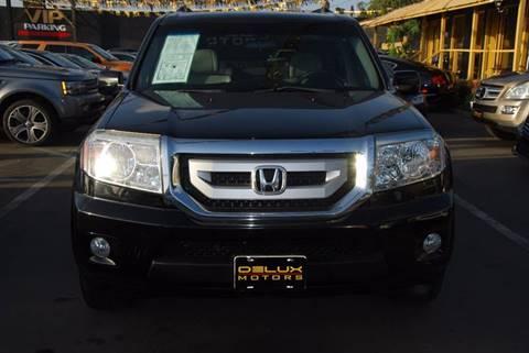 2011 Honda Pilot for sale at Delux Motors in Inglewood CA