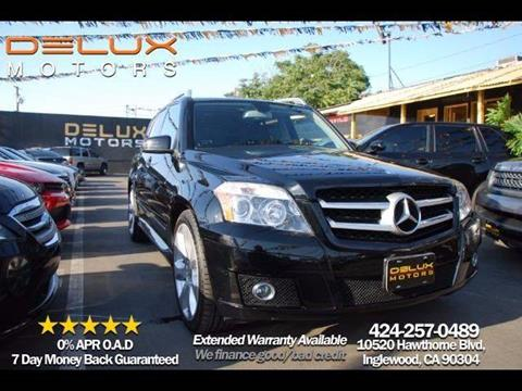 2010 Mercedes-Benz GLK for sale at Delux Motors in Inglewood CA