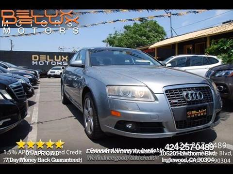 2008 Audi A6 for sale at Delux Motors in Inglewood CA