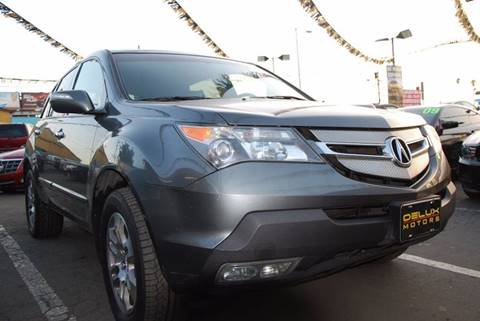 2008 Acura MDX for sale at Delux Motors in Inglewood CA