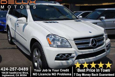 2011 Mercedes-Benz GL-Class for sale at Delux Motors in Inglewood CA