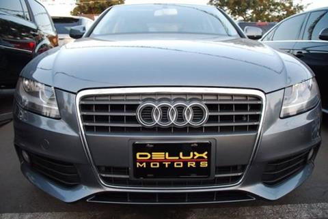 2012 Audi A4 for sale at Delux Motors in Inglewood CA