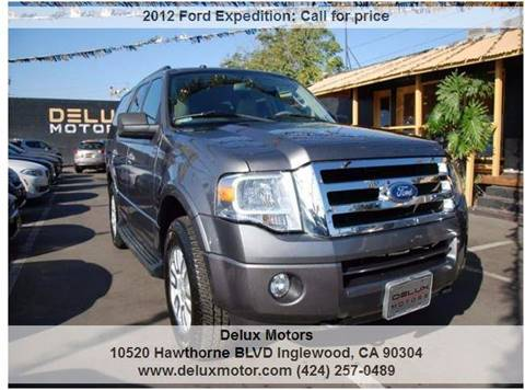 2012 Ford Expedition for sale in Inglewood, CA