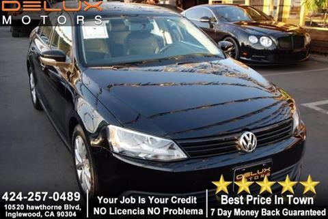 2012 Volkswagen Jetta for sale at Delux Motors in Inglewood CA